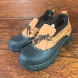 Lands End Womens 8.5 Winter Duck Hiking Shoes